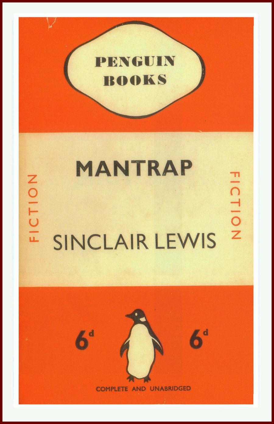 Mantrap by Sinclair Lewis