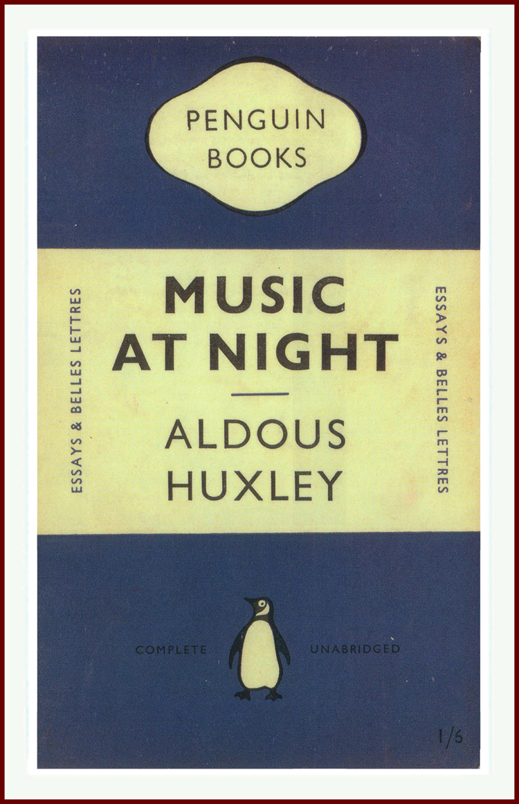 Music at Night Aldous Huxley