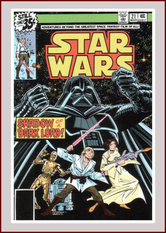 Star Wars Comics #21