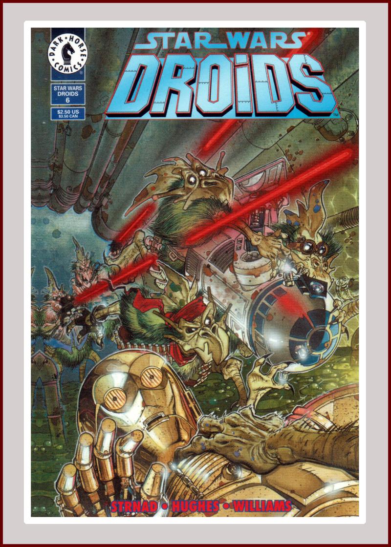 Star Wars Comics Droids #6