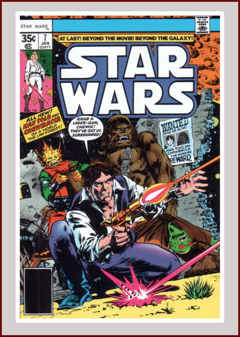 Hans Solo & Chewbacca Cover