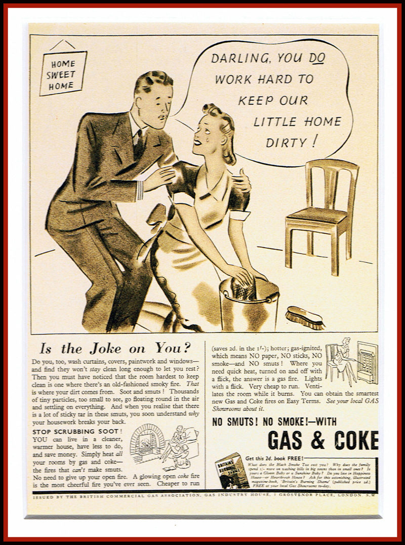 Gas & Coke Vintage Advert