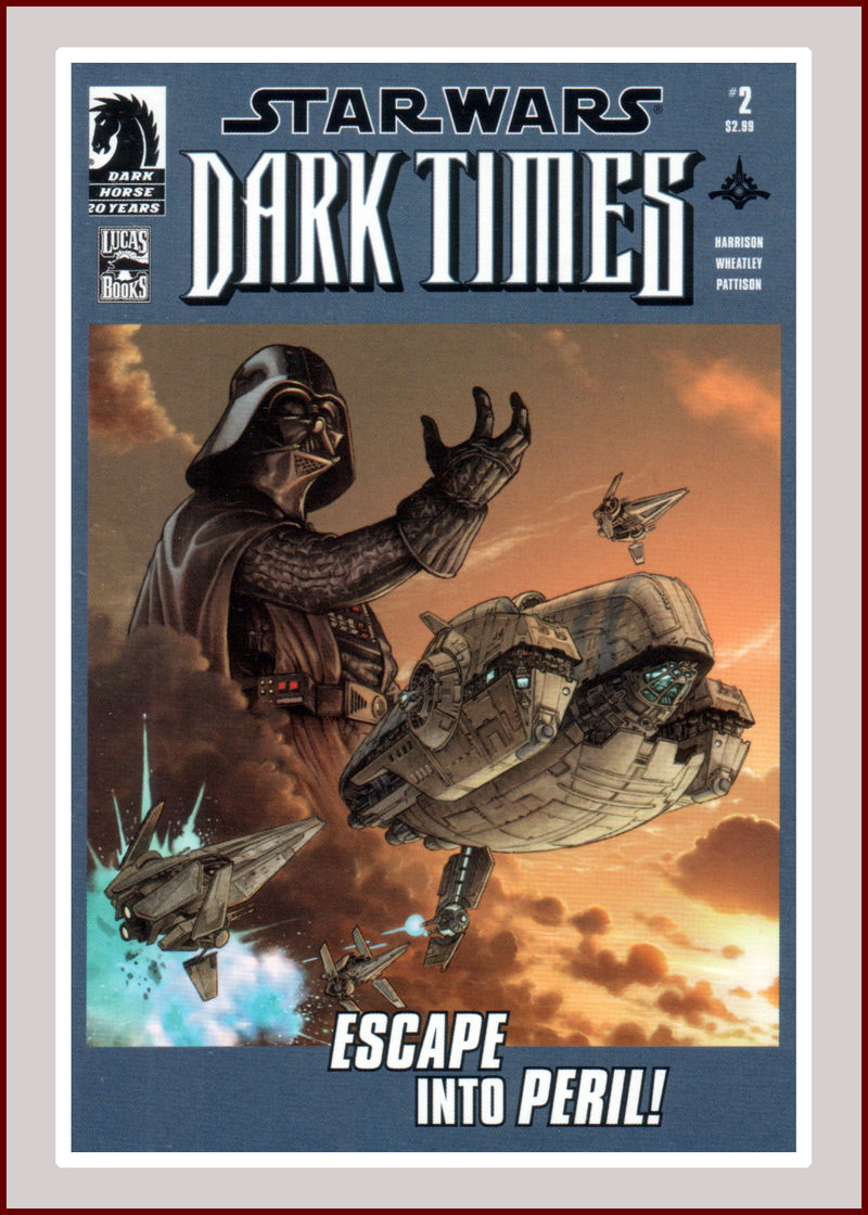 Dark Times Escape into Peril!
