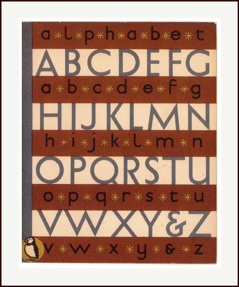 Puffin Alphabet
